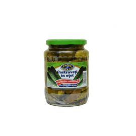Castraveti in otet Encon, 720 g